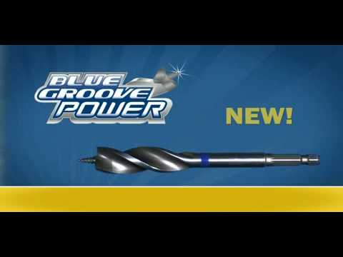 Irwin 10502822 4X-Speed Blue Groove Flat Bit 38mm