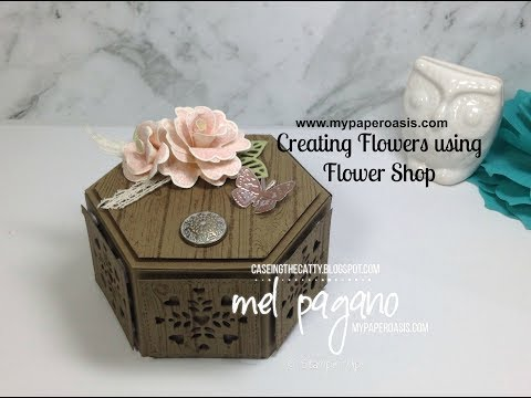 3D Flower Making using Flower Shop