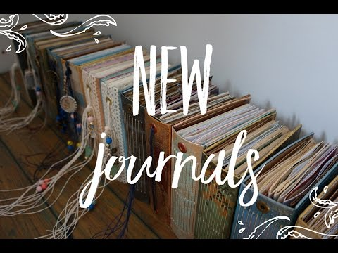 My New Journals - Little Bindy On Etsy