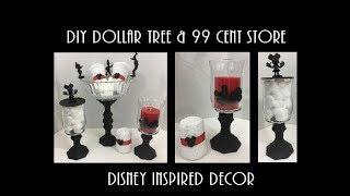 DIY Dollar Tree & 99 cent Store Disney inspired Decor