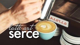 Latte art: SERCE - poradnik dla początkujących. Czajnikowy.pl