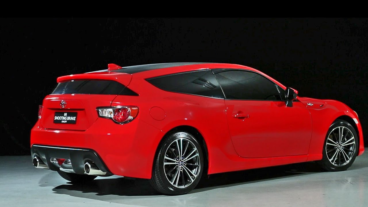 First Look 2016 Toyota 86 Shooting Brake Concept Youtube