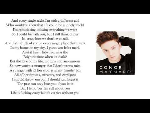 FADED Lyrics Cover by Conor Maynard