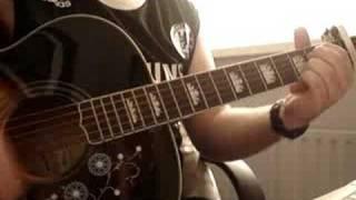 Wonderwall Oasis Cover Acoustic Guitar Instrumental
