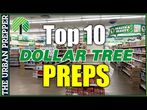 Top 10 Preps to Buy At DOLLAR TREE Upon EVERY Visit