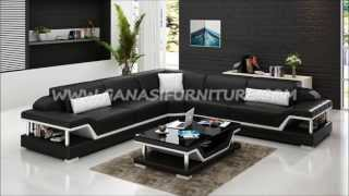 2015 Modern sofa design, Italian leather corner sofa, living room sofa