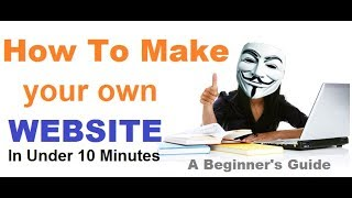 Make Your Own Free Website-Without Any Investment-Full Explain In HIndi