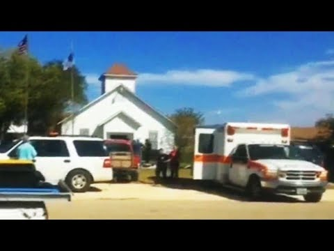 'Good guy with a gun' chased Sutherland Springs church shooter