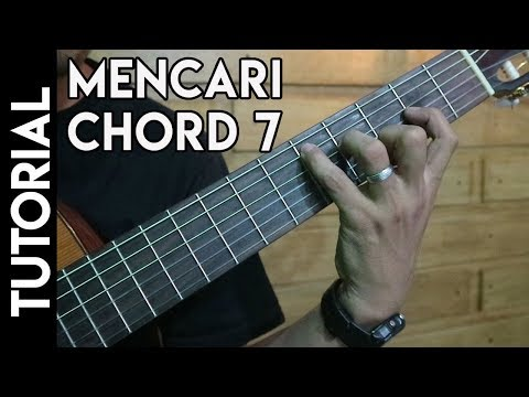 Cara Mencari Chord Gitar 7