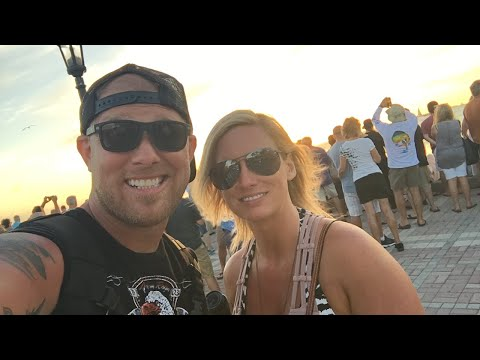 Live from a nightly sunset party in key west!