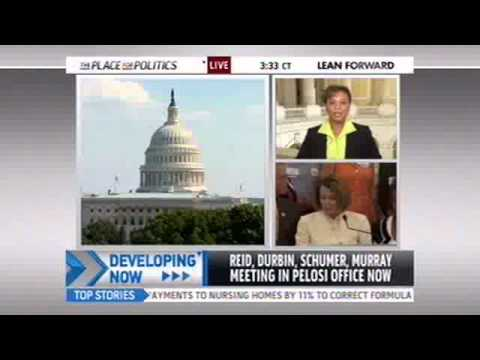 Rep Barbara Lee Discusses Debt Negotiations on MSNBC with Chris Jansing