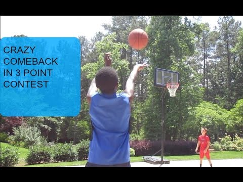 KID PERFECT | crazy 3 point contest comeback!!!