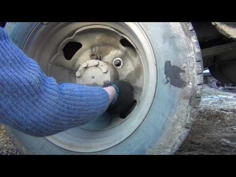 Газель, про#бал колесные гайки.