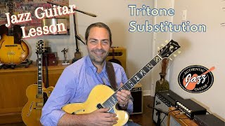 Jazz Guitar Lesson: The Triton…
