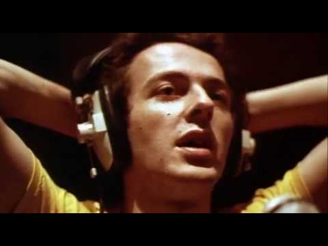 Joe Strummer singing 'All the Young Punks'.