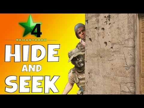 MWR Hide and Seek - DUAL Hide and Seek Edition!! *COD 4 REMASTERED FUNNY MOMENTS*