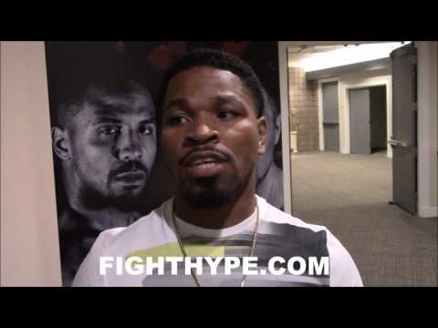 """SHAWN PORTER SHUTS DOWN MAYWEATHER VS. MCGREGOR QUESTIONS: """"NOT ANSWERING ANY QUESTIONS ABOUT THAT"""""""