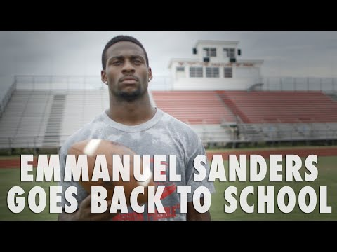 Emmanuel Sanders High School Homecoming - First & Long, Sponsored by Nike