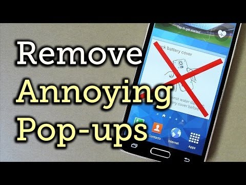 "Disable ""Water Damage"" Popup Reminders on Your Samsung Galaxy S5 [How-To]"