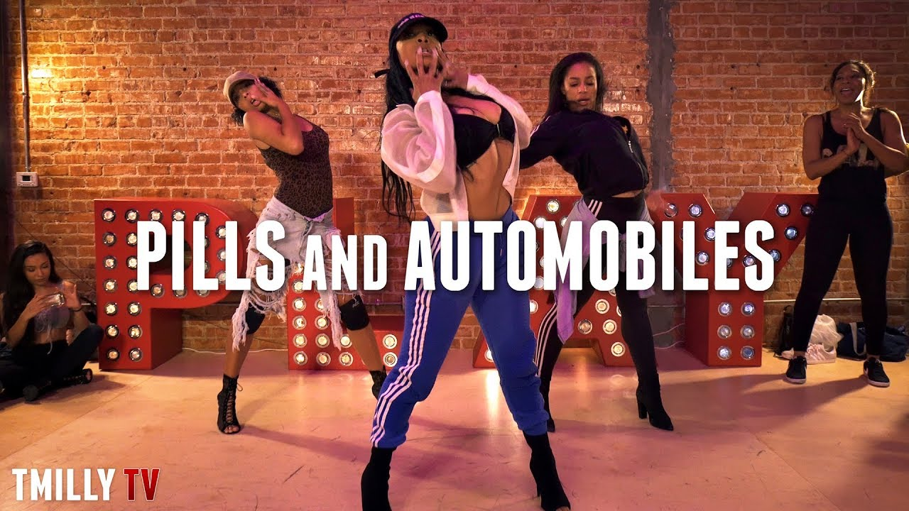 Chris Brown | Pills & Automobiles | Choreography by Aliya Janell |#TMillyTV #1