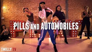 Chris Brown Pills Automobiles Choreography By Aliya Janell TMillyTV