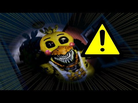 Nightmare Toy Chica Jumpscare