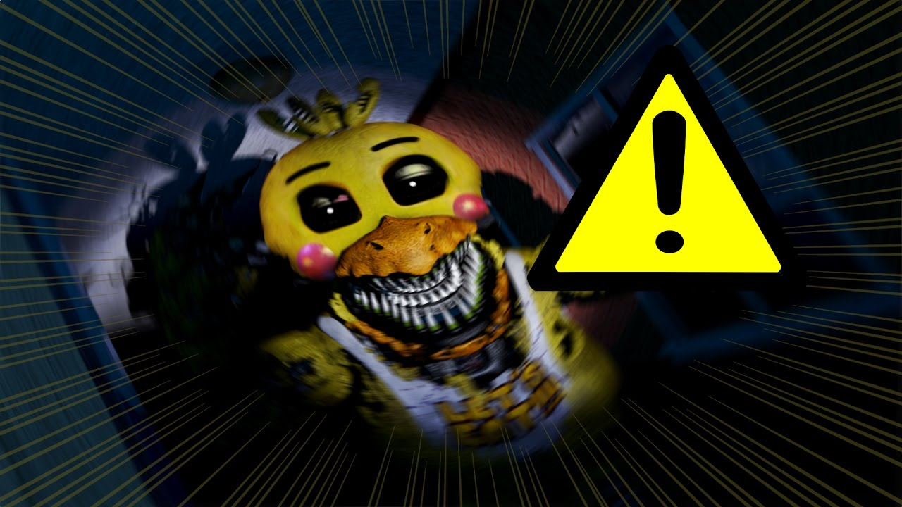 Nightmare Toy Chica Jumpscare - YouTube