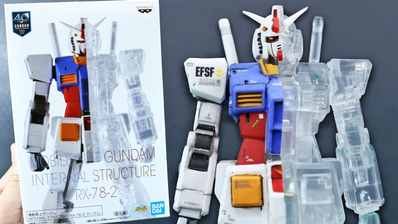 Banpresto Mobile Suit Gundam Internal Structure RX-78-2 Gundam Ver.B
