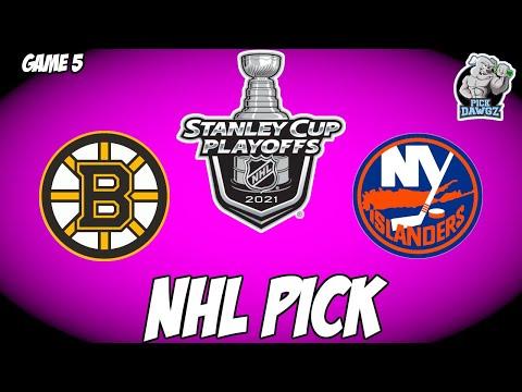 Boston Bruins vs New York Islanders 6/7/21 Free NHL Pick and Prediction NHL Betting Tips