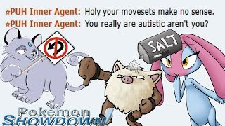 How to Counter U-Turn on Pokemon Showdown with Memes! Salty Pokemon Showdown Players in the PU Tier!