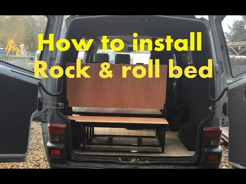 How To Install A Rock And Roll Bed Vw T4 Youtube