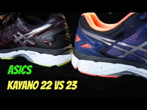 當之無愧跑步鞋之王Asics Kayano 22 VS Kayano 23 - YouTube 520d1c25b814