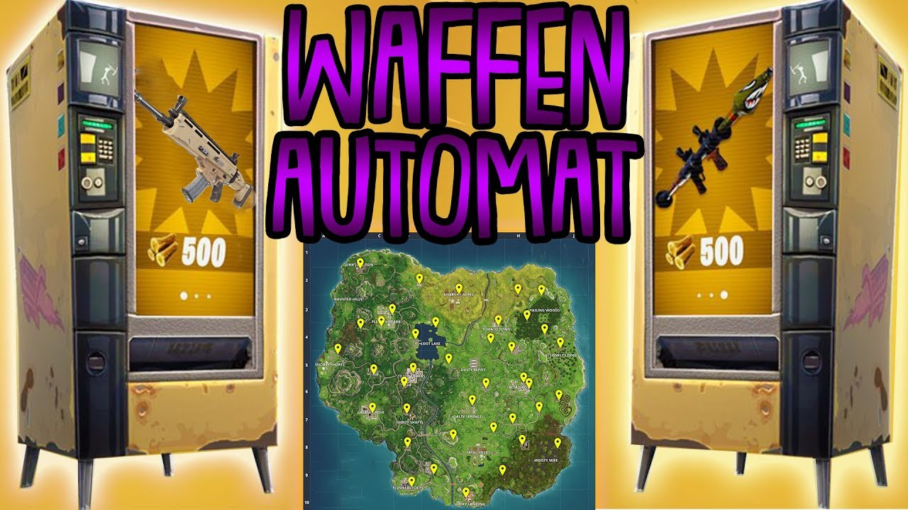 Fortnite Automaten