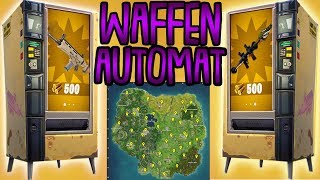 GOLDENE SCAR AUS AUTOMAT! | Alle Orte der Verkaufsautomaten | Fortnite Battle Royale