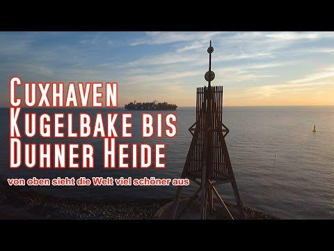 Cuxhaven   Kugelbake bis Duhner Heide
