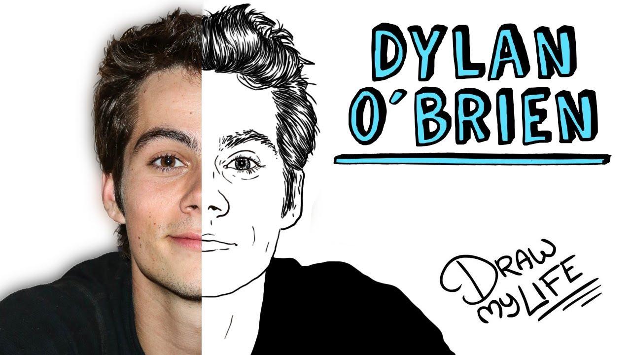 Dylan Obrien Draw My Life
