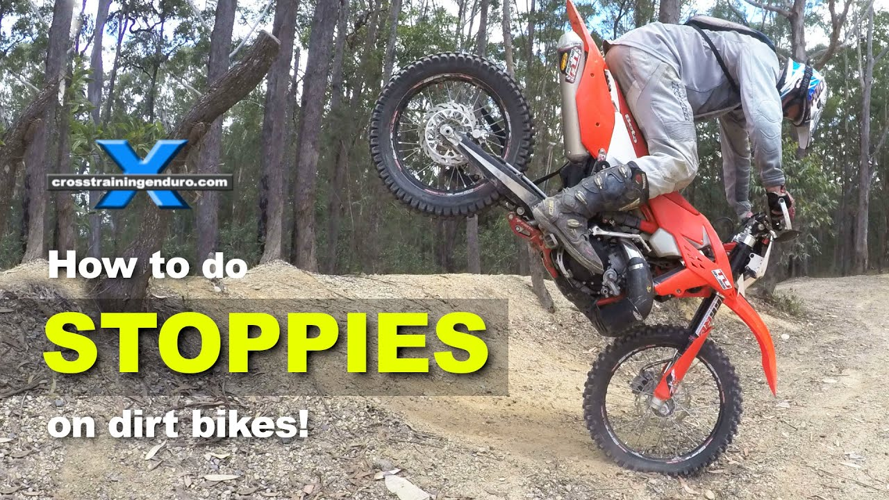 How To Do Stoppies Like Graham Jarvis Cross Training