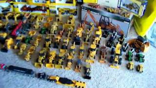 My die-cast construction equipment collection!