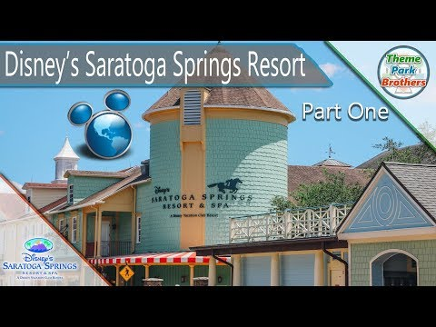Disney's Saratoga Springs Resort and Spa Walkthrough Part One