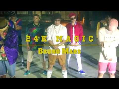 24K Magic | Bruno Mars #24kDanceChallenge...