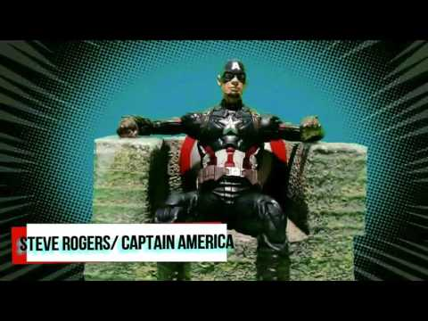ToyWatch Thunder Ep.1 Captain America Confidential