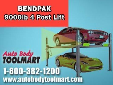 Bendpak 9000 lb 4 Post Auto Lift