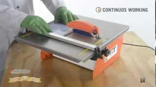 видео Электрический плиткорез с водяным охлаждением: какой выбрать и какая стоимость?