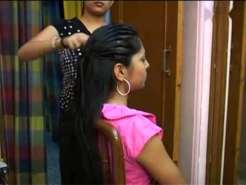 Modern Party Wear Hair Style For Indian Girls Steps By Step