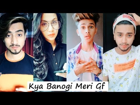 Kya Banogi Meri Girlfriend Musically | Lucky Dancer, Hassnain And More