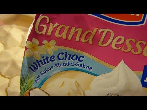 Ehrmann - Grand Dessert White Choc Coconut Almond / Kokos Mandel