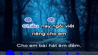 Bai Cho Em - Tu Cong Phung - karaoke