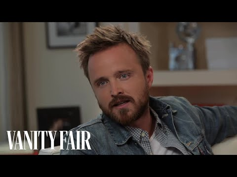 "Aaron Paul Talks ""Breaking Bad"" - @VFHollywood"