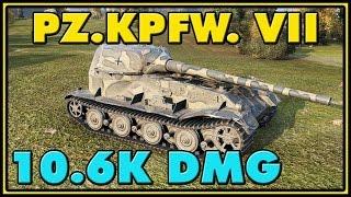 World of Tanks | Pz.Kpfw. VII - 6 Kills - 10.6K Damage