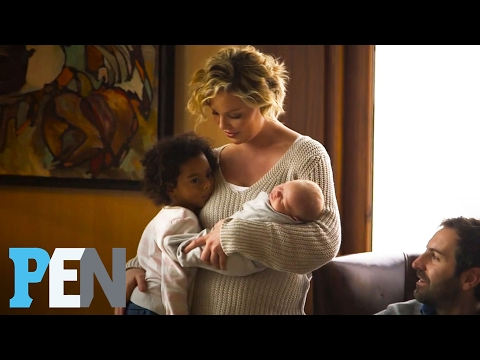 Katherine Heigl Opens Up About Her Adopted Daughters & Newborn Son  PEN  Entertainment Weekly